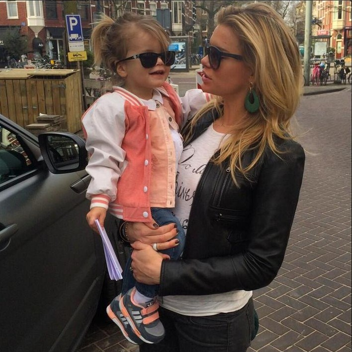 Photo of Nicolette Kluijver & her Daughter  Ana-Sofia
